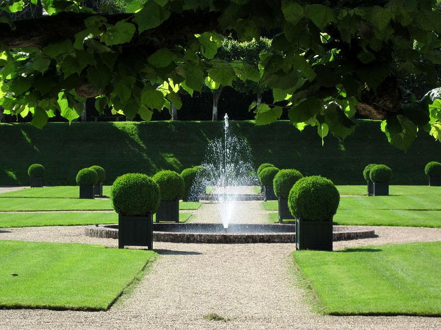 Jardín frances e inglés